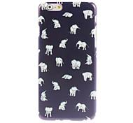 Lovely Little Elephant Design Hard Case for iPhone 6