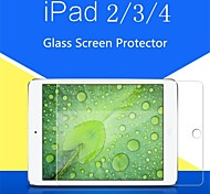 0.4mm 9H Hardness Damage Protection Tempered Glass Film Screen Protector for iPad 2/3/4