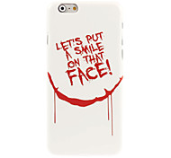 Face Design Hard Case for iPhone 6
