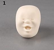 Novelty Design CAOMARU Stress Reliever Anti-stress Human Face Balls Smile Toy