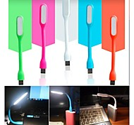 1.2W portable USB-LED flexible USB-powered LED-Lampe für USB-Hardware (sortierte Farbe)