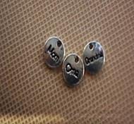 bella mamma in lega d'argento accessorio di moda fascino (3pcs)