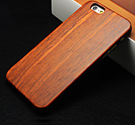 Pear Wood Hard Back Cover for iPhone 6 Plus