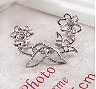European Style Fashion Small Flower Earrings