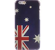 caso duro do design da bandeira australiana para iphone 6