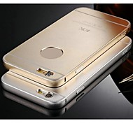 KX Brand Metal Frame Full Metal Backboard Metal Hard Case for iPhone 6(Assorted Colors)
