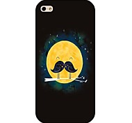 Mustache Pattern Hard Back Case for iPhone 4/4S