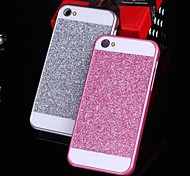 Solid Luxury Bling Glitter  Back Cover Case for iPhone 4/4S(Assorted Colors)