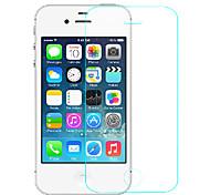 (0.3mm mince dureté de 9h) protection contre les dommages verre trempé protecteur d'écran de film pour iPhone 4 / 4S