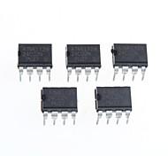 puce de mémoire 24c02n dip-huit (5pcs)