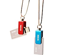 SSK OTG SFD239 32GB USB Flash Pen Drive for Smart Phone Computer Waterproof