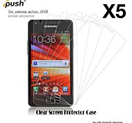 High Transparency Matte LCD Screen Protector for Samsung S2 I9100 (5 Pieces)