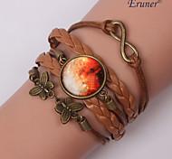 Eruner®Handmade Fashion Women's Pretty Galaxy Cosmic Moon Bracelets