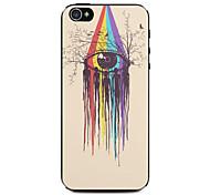 Augenfarbmuster Hard Case für iPhone 4 / 4s