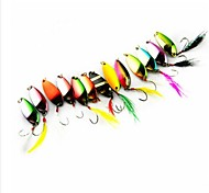 Hot Sale New 3.4g Colorful Bait Metal Spoon Fishing Lures(10pcs)