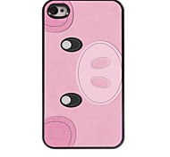 Cute Pig Design Aluminum Hard Case for iPhone 4/4S
