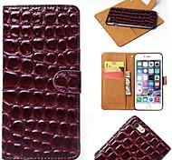 Steinkornmuster zwei-in-one-PU-Leder für iphone 6 (verschiedene Farben)