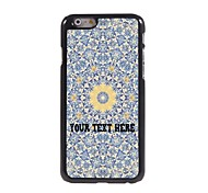 Personalized Phone Case - Yellow Flower Design Metal Case for iPhone 6