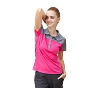 Mujer Tops / CamisetaCamping y senderismo / Pesca / Escalada / Fitness / Golf / Deportes recreativos / Bádminton / Ciclismo / Campo