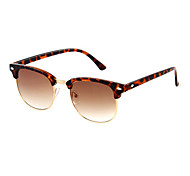 Anti-Fog Men's Browline Plastic Fashion Sunglasses
