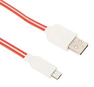 Micro USB Noodle Shining Bright Charger Cable