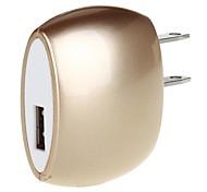 Unique Oval Design 1A 5V USB Power Adapter/Charger (100~240V/UK Plug)