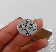 albero della vita della lega d'argento accessorio fascino (3pcs)