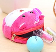 Cartoon Plush Change Purse(Random Color)