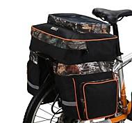 oeste biking® três em um cestos bicicleta prateleira sela entrega equipamentos capa de chuva ciclismo saco rack traseiro