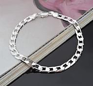 Stylish Silver Chain Women's Bracelet