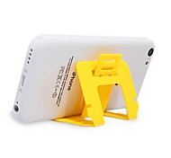 Adjustable Universal Plastic Folding Stand for Samsung iPhone Cellphone(2 PCS Random Color)