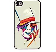 bunte Frau Design Aluminium-Hülle für das iPhone 4 / 4s
