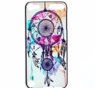 White Campanula Pattern Hard Case for iPod touch 5