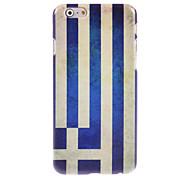 Greek Flag Design Hard Case for iPhone 6