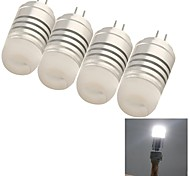 4 stuks youoklight G4 4W 8 SMD 3014 150 LM Koel wit Decoratief LED-maïslampen DC 12 / AC 12 V