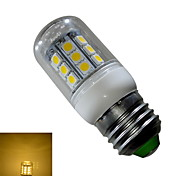 E26/E27 3 W 27 SMD 5050 280 LM Warm White Corn Bulbs AC 85-265 V