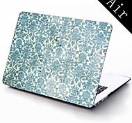 design vintage flower pattern Custodia protettiva in plastica di tutto il corpo per 11-inch / 13-inch nuovo Mac Book Air