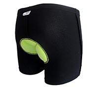 oeste biking® montar pantalón negro-2xl s gel bicicleta ropa interior ropa de ciclismo 3d almohadilla escritos transpirable hombres de tamaño