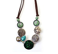 Drip Green Necklace