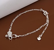 Fashion Sexy Silver Plating Anklets