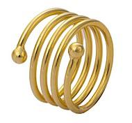 tina-o anel de simulação de ouro