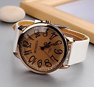Women's Fashionable Style Alloy Analog Quartz PU Watch(Assorted Colors)