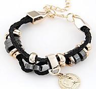 Unisex Fashion Bracelet Alloy