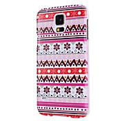 Stilvolle Tribal Design-Hartplastik-Hülle für Samsung Galaxy i9600 S5