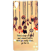 Colorful Windbell Pattern TPU Soft Case for Sony Z2