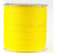 Yellow Dyneema 300m PE Monofilament Fishing Line Japan Top Braided Fishing Lines Army Fishing Wire Fishing Accessories