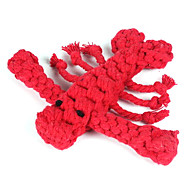 Langouste Shape Rope Textile Chew Toys For Dog