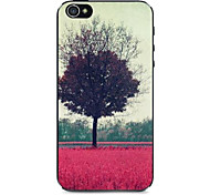 Flowers Withered Pattern Hard Case for iPhone 4/4S
