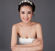 Silver Rhinestone  Accessories Wedding Headpieces SP112