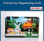 Hight auto giocattolo di qualità per i bambini del camion attrito impostato con strumenti il tema farm 20142-6